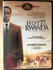 Don Cheadle HOTEL RWANDA ~ 2004 True Life Massacre Drama Region 1 US DVD