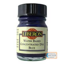 Liberon 15ml azul concentrado a base de agua tinte madera mezcla para crear