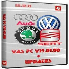 ODIS 4.2.3 + VASPC 19.01.01 5 x DVD software Set