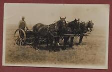 Canada. Youngstown, Alberta. Farmer. Horses. Farm Machinery.   q.785
