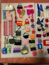 Huge Lot Of Barbie Clothes & Shoes & Other Accessories