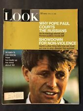 Look Magazine April 16 1968   Bobby Kennedy