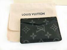 Louis Vuitton M61696 Monogram card organizer leather holder Unisex