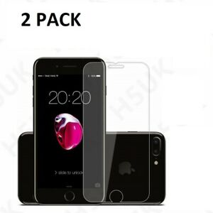 2 PACK IPhone7 Strong Tempered Glass Film Protection Screen  Apple iPhone 7
