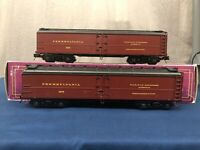 Mth Pennsylvania (#2675) R50B Reefer Car (Lot of 2) NO BOXES 20-94151