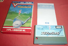 Msx hole in one professional EUR [] hal * jrf *