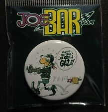 Pin Button Badge Ø38mm    JOE BAR TEAM #7