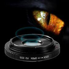FD Lens for Canon EOS EF Body Mount Adapter Ring Converter Infinity Focus AZ