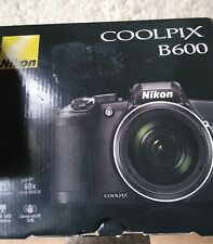 Nikon Coolpix B600 Point & Shoot Camera - Black open box no usb cable
