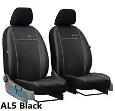 "TOYOTA HILUX Mk8 2016 ONWARDS ECO LEATHER /""Exclusive/"" FRONT TAILORED SEAT COVERS"