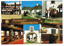 Ak. Farbkarte Oslip Restaurant Storchenmühle