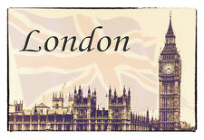 "London Travel 3.25""x2.25"" Collectibles Fridge Handmade Magnet  (PMD10007)"