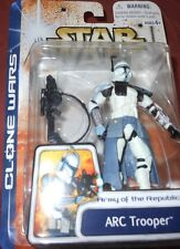 "STAR  WARS  ARC TROOPER  ARMYof the REPUBLIC yr.2003  33/4"" Action Figure"