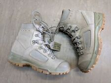 Original British Army Issue Leather Lowa Desert Combat Boots Size 5 UK #596