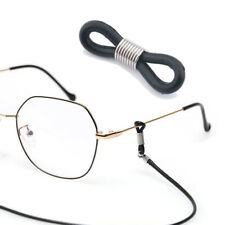 Stainless Steel Bead Holder Strap Rubber Loop End Eye Glasses Retainer Connector