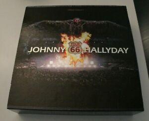 JOHNNY HALLYDAY .... TOUR 66  STADE DE FRANCE 2009 .... COFFRET COLLECTOR