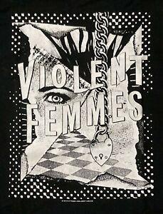 Violent Femmes Vtg 1996 USA Promo Concert Tour Shirt