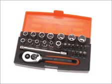 Bahco - BAHSL25 - SL25 Socket Set of 25 Metric 1/4in Drive