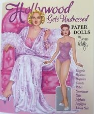 Hollywood Gets Undressed Paper Dolls by David Wolfe-A Fun Fashion Fantasy!