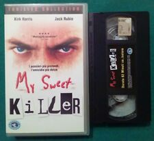 VHS FILM Ita Thriller MY SWEET KILLER kirk harris jack rubio 82 min no dvd(VH65)