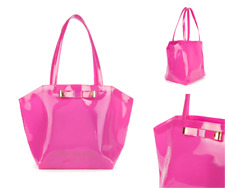 a40757d70980b7 TED BAKER Ladies AZRA Bow tote Bag Bright Pink TRAPEZE Ikon Shoppers Bags  BNWT