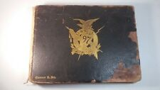 1897 Usma Yearbook 39 Generals 3 Medal of Honor Gettysburg Custer 1st to Fly?Wow