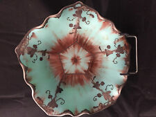 Pâte de verre incrusté d'Argent Art Nouveau jugendstil