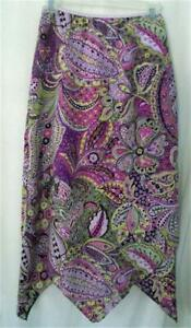 NWOT Jr Womens MY MICHELLE Layered Paisley Skirt Sz 7/8