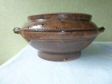 Vase Poterie cache Pot A M DESCHAMPS La Roche Foucauld 1942