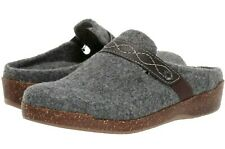 New EARTH Origins Women's Aurora Janet Clogs Flats Shoes Size  9.5 W Wide ~ Grey