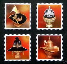 Briefmarken aus Thailand mit Königshäuser Motiv