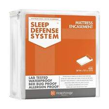 HOSPITOLOGY PRODUCTS Sleep Defense System - Waterproof/Bed Bug/Dust Mites ..