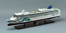 "Norwegian Jade Cruise Ship 40"" Handmade Wooden Ship Model"