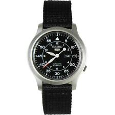 Seiko 5 Automatic Military Style Black Men's Watch SNK809K2 RRP £149