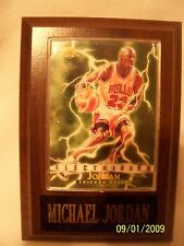Michael Jordan Electrified Sports Plaque Sky Box Card