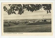 agazzano piacenza vecchia cartolina formato piccolo 1940