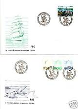 Aland Sc# 1-3,7,14,17 and 20 FDC