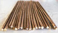 """N/Z Scale Very Beautifully Customed Detailed 20 Pcs. 1/8"""" x 12""""+- Logs Real Wood"""