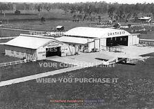 ARCHERFIELD AERODROME BRISBANE 1931 QANTAS A3 POSTER PRINT PHOTO PICTURE IMAGE