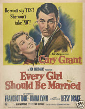 Every girl should be married Cary  Grant Movie poster