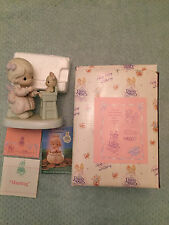 4 Precious Moments-Loving, Caring and Sharing Collector's Club Set-Members Only
