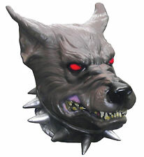 HALLOWEEN ADULT DEVIL DOG PIT BULL  MASK PROP