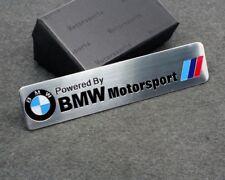 3D BMW Motorsport Aluminum Body Side Emblem Sticker Decal Badge Logo for BMW Car