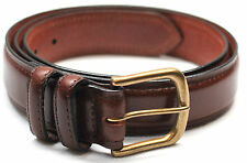 Traders Brown Genuine Leather Casual Belt 29312tannm M 36-38