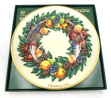 Lenox 1988 Colonial Christmas Wreath Plate Delaware the Eighth Colony Vintage
