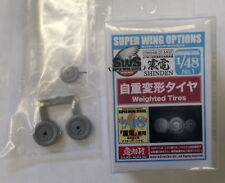 Zoukei-Mura 1/48 IJN Fighter Aircraft Kyushu J7W1 Shinden Weighted Tyres