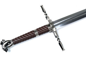 Functional Folded Steel Witcher Style Sword