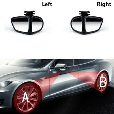 2PCS 360 Rotation Convex Blind Spot Mirror Fit For Car Truck Reversing Driving