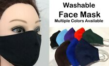 Washable Cloth Face Mask  Adult (L,M) and  Child (S)   Mascarillas Reusables