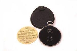 ICA Diaphot Belichtungsmesser Fotometer mit Ledertasche Gebrauchsanweisung